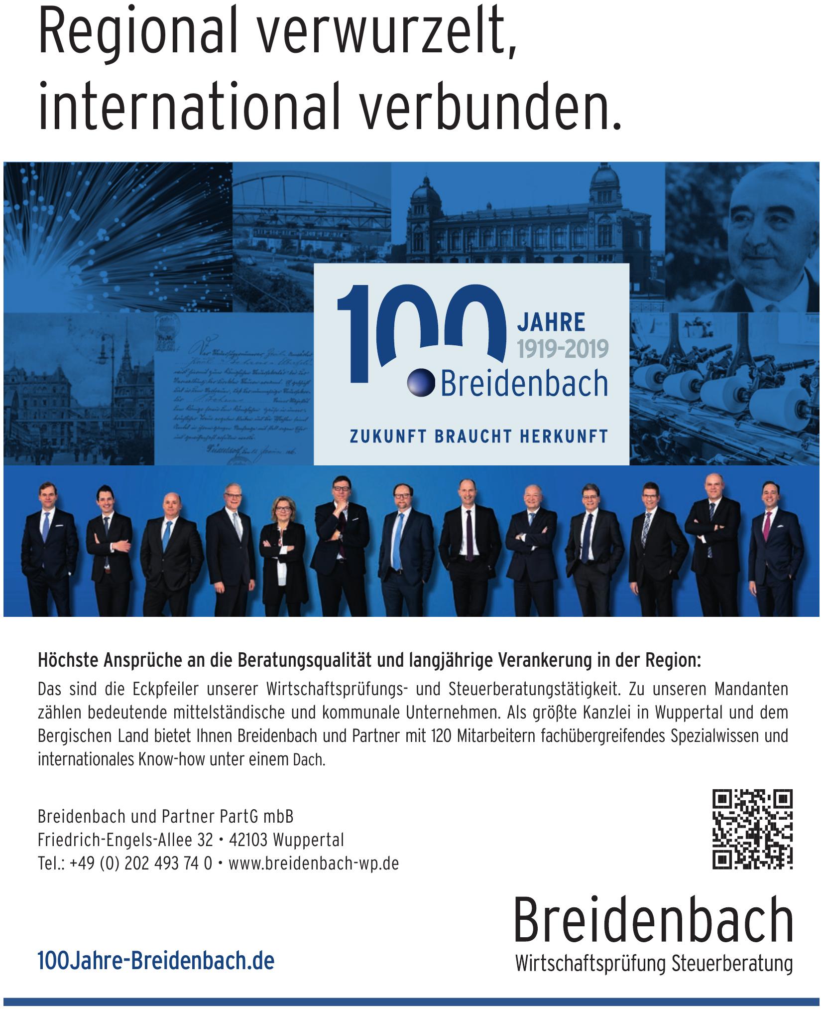 Breidenbach und Partner PartG mbB