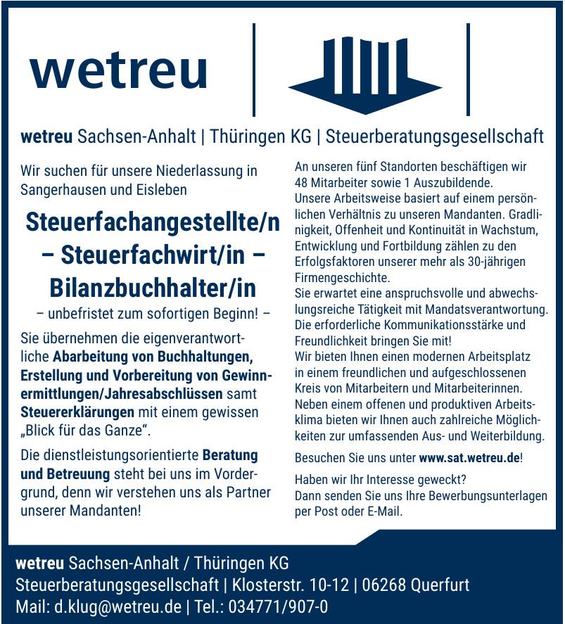 wetreu Sachsen-Anhalt / Thüringen KG