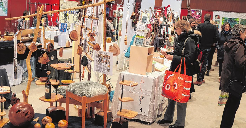 Dekoratives aus Holz und anderen Materialien gibt es im Goldbekhaus Foto: Goldbekhaus