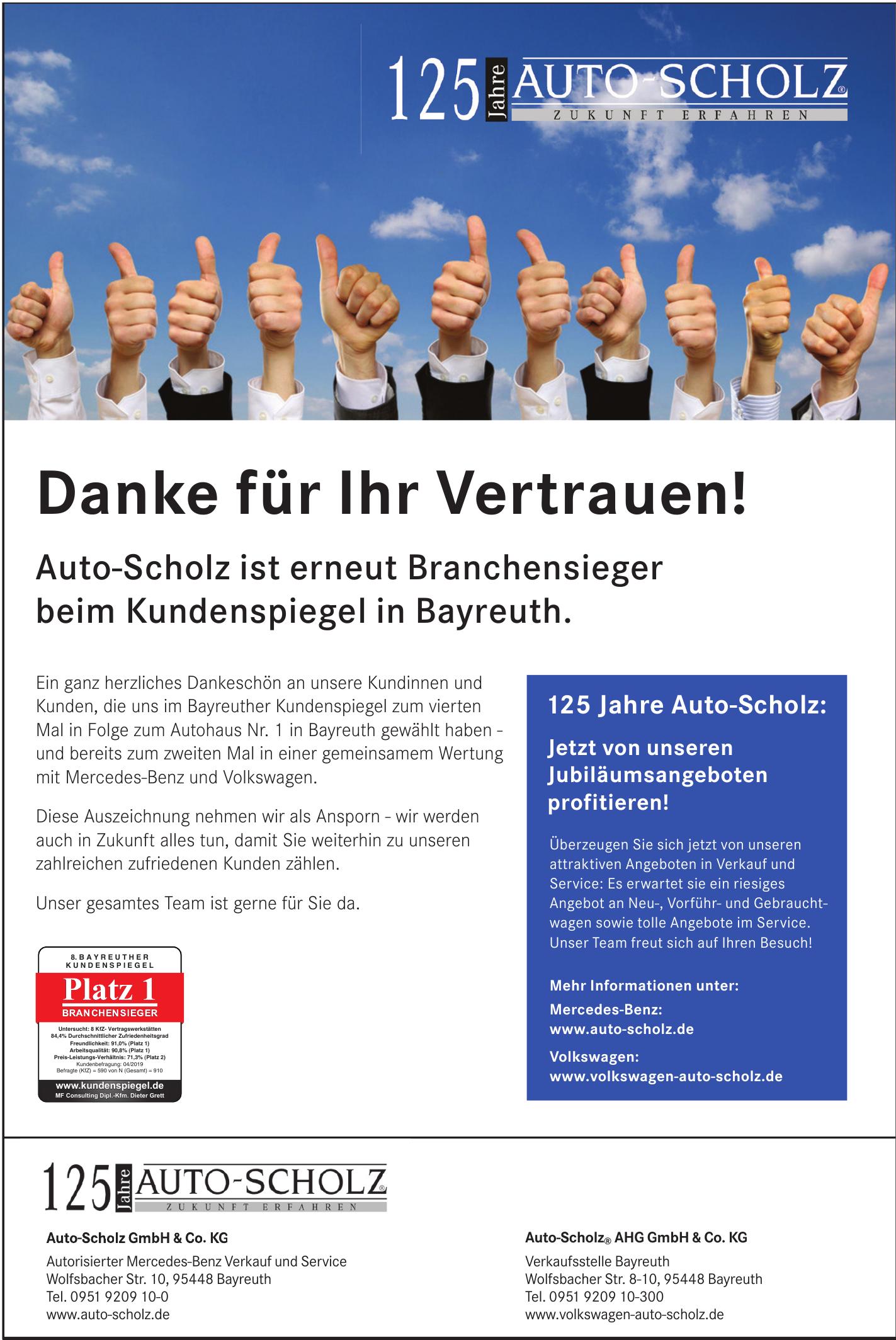 Auto-Scholz® AHG GmbH & Co. KG