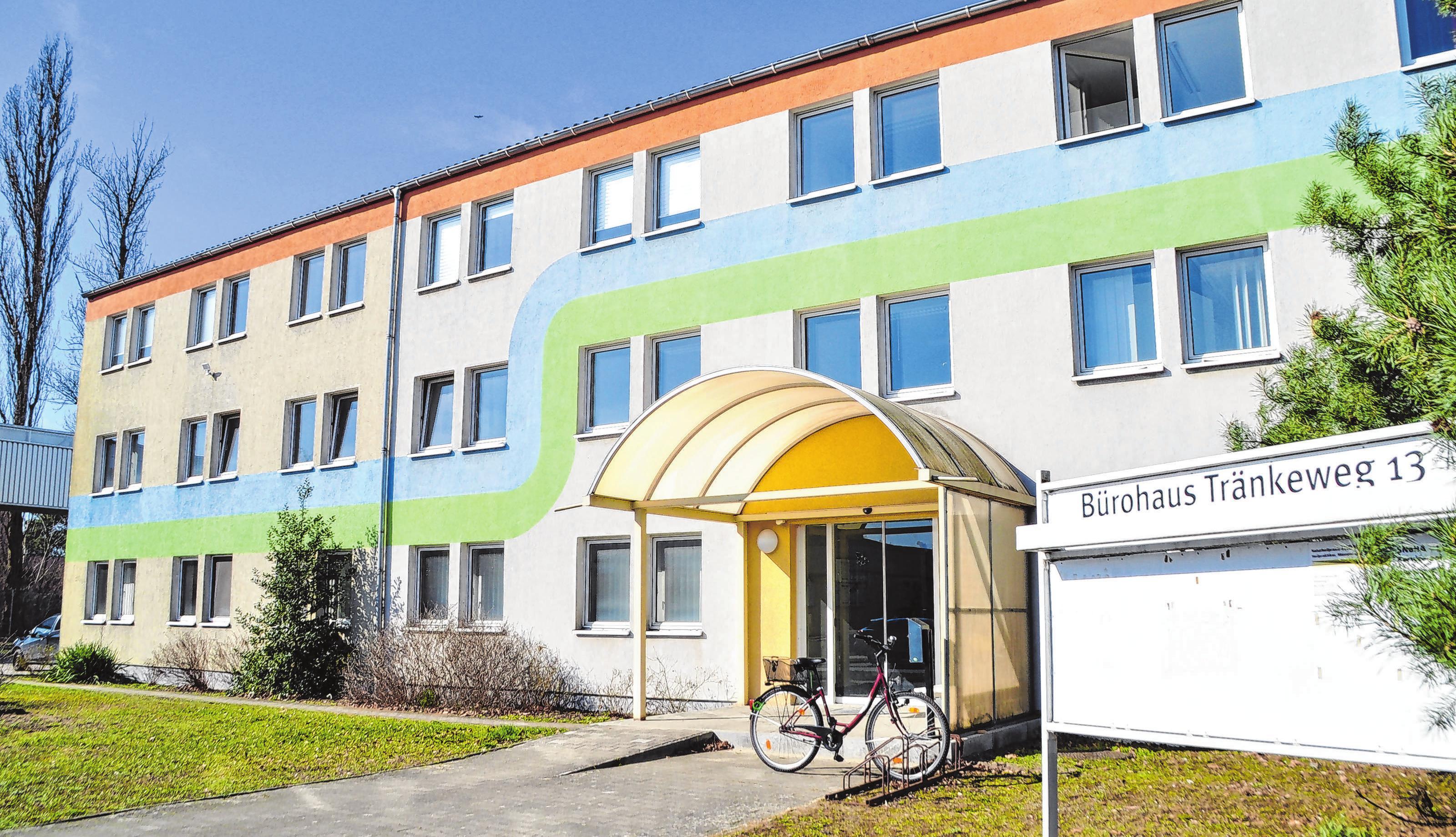 In dem Bürogebäude im Tränkeweg 13 hat Thomas Gruhn seine Praxis eingerichtet.