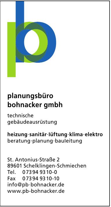 Planungsbüro Bohnacker GmbH