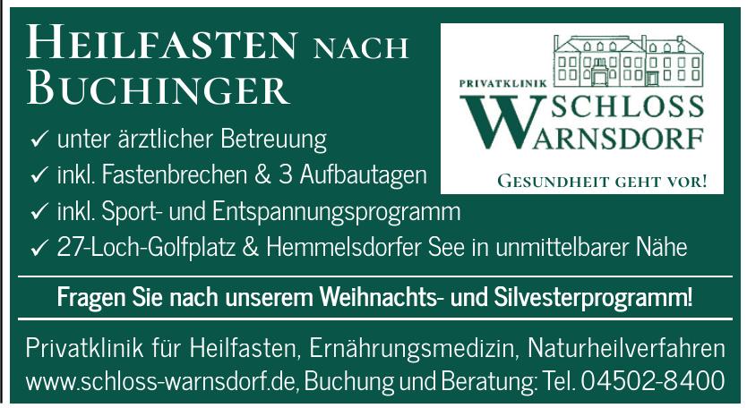Privatklinik Schloss Warnsdorf