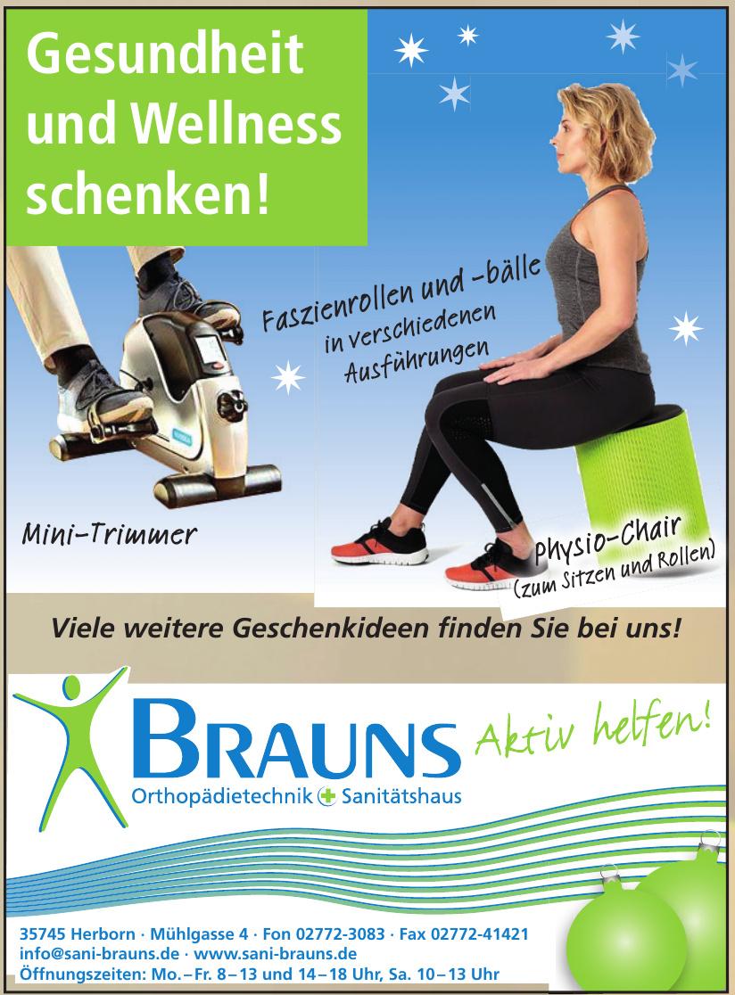 Orthopädietechnik + Sanitätshaus Brauns