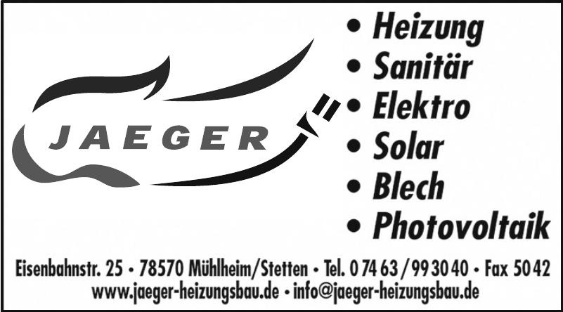 Jaeger Heizungsbau