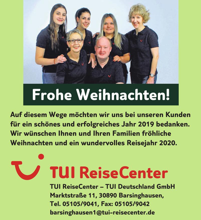 TUI ReiseCenter – TUI Deutschland GmbH