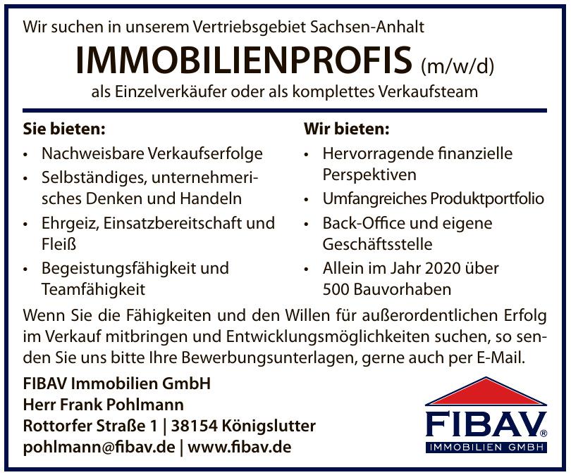 FIBAV Immobilien GbmH