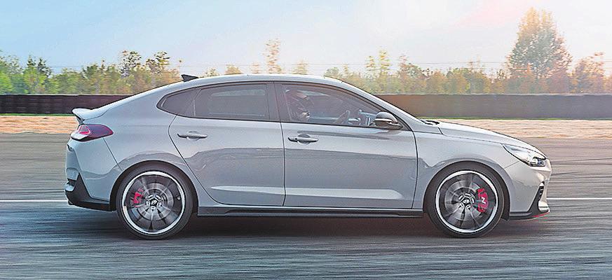 Nach dem Hyundai i30 N feiert auch der Hyundai i30 Fastback N seine Weltpremiere. Foto: Hyundai