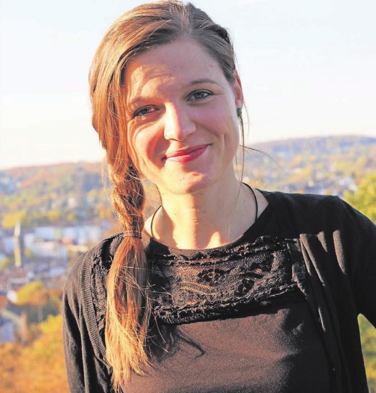 """Donata Weinbach ist die Projektkoordinatorin des Programms """"In Touch""""."""