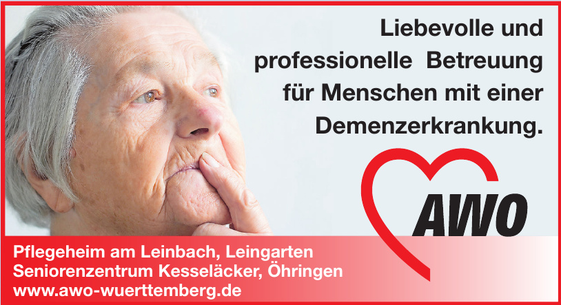 AWO - Pflegeheim am Leinbach