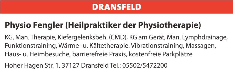 Physio Fengler (Heilpraktiker der Physiotherapie)