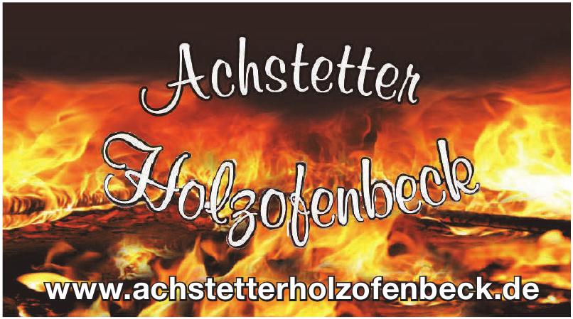 Achstetter Holzofenbeck