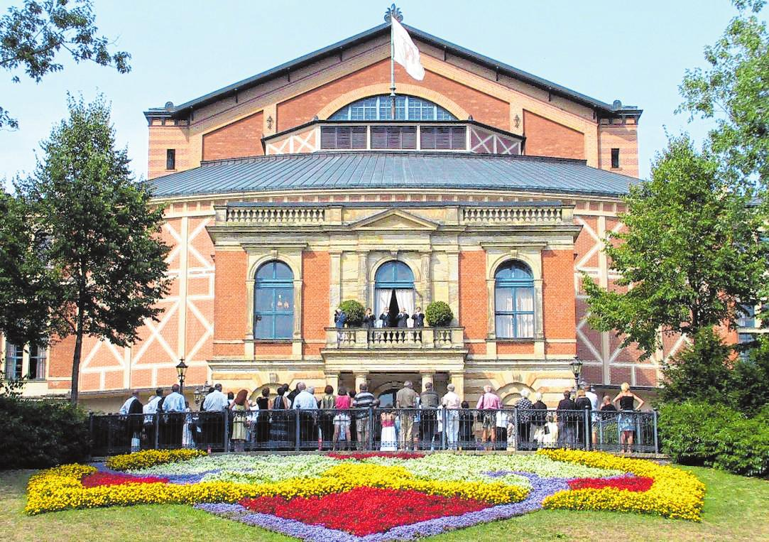 Das Tannhäuser Festspielhaus in Bayreuth. Bild: BF Medien GmbH