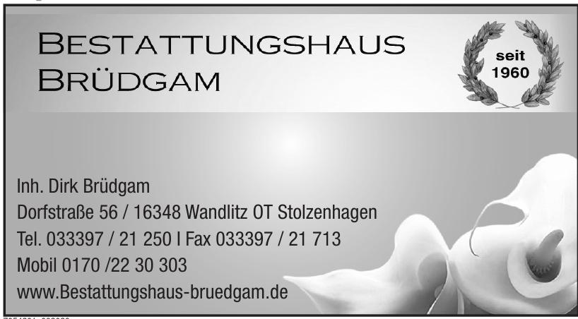 Bestattungshaus Brüdgam