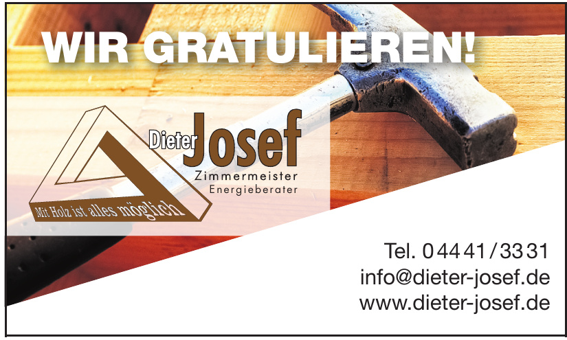 Dieter Josef Zimmermeister Energieberater