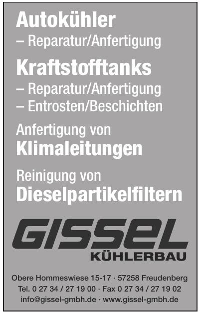 Gissel Kühlerbau