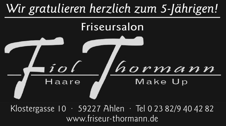 Fiol Thormann Haare, Make Up