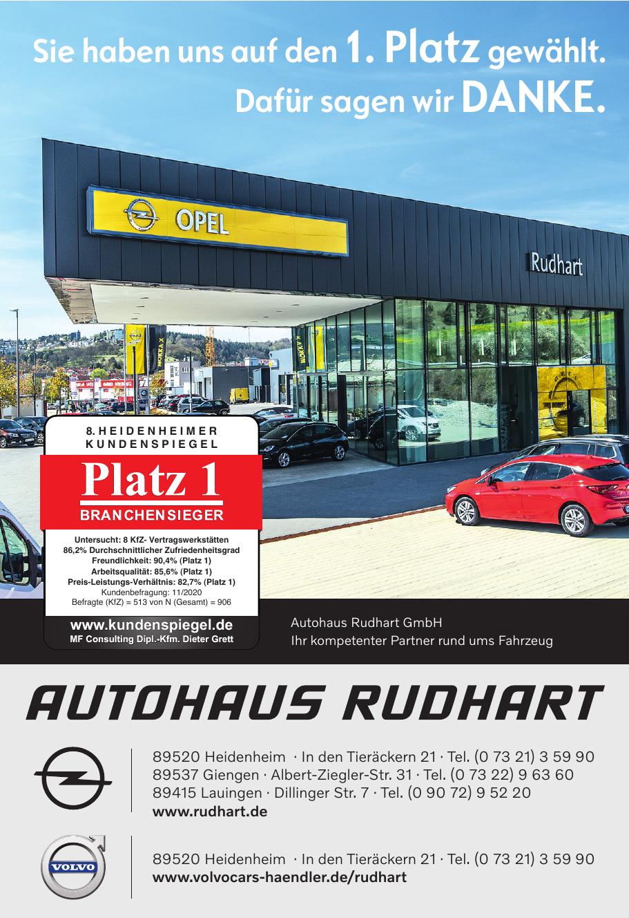 Autohaus Rudhart GmbH