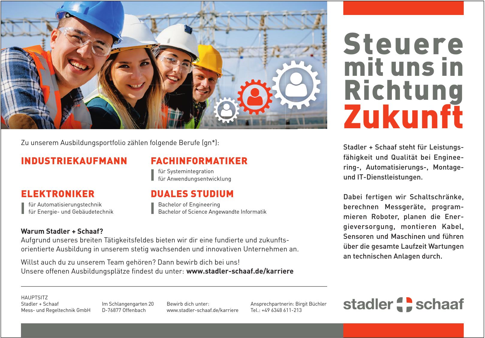 Stadler + Schaaf Mess- und Regeltechnik GmbH