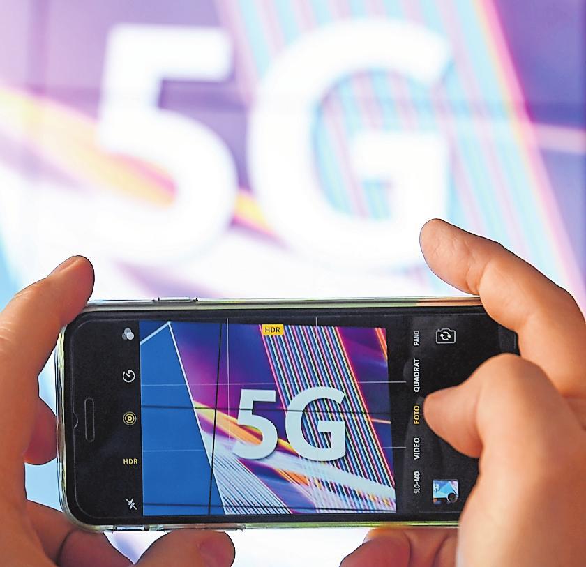 Viel rasanter und dabei merklich stabiler: Der künftige Mobilfunkstandard 5G wird die Datenübertragung revolutionieren. FOTO: DPA