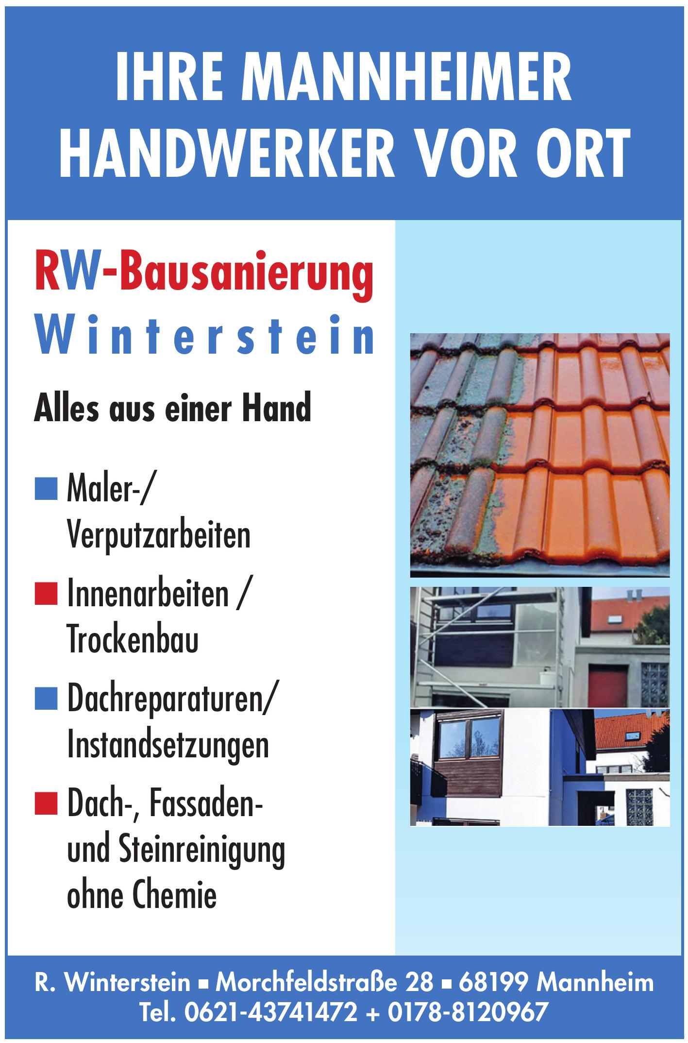 RW-Bausanierung