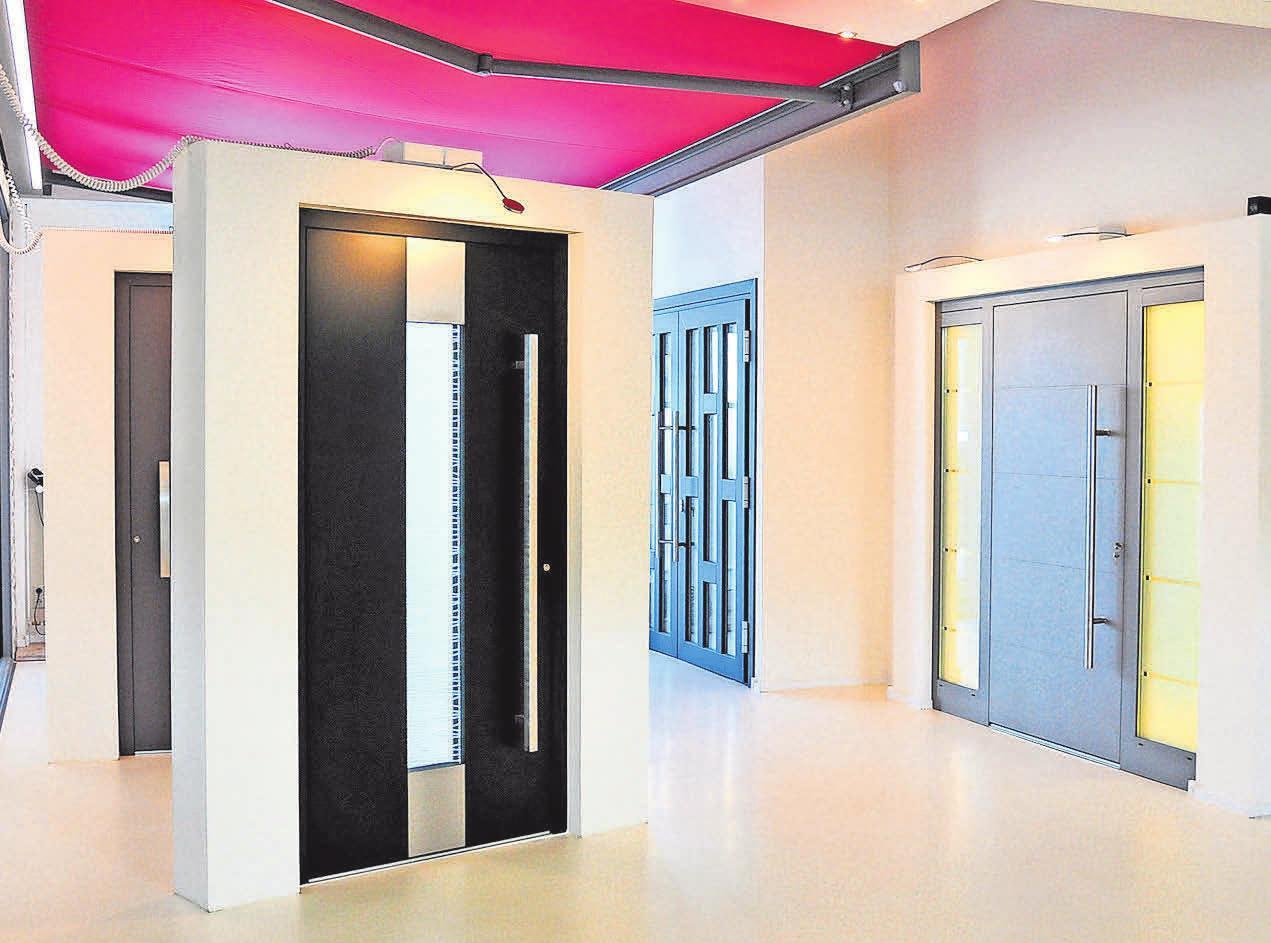 Für das eigene Heim bietet Robering eine große Auswahl an hochwertigen Eingangstüren.