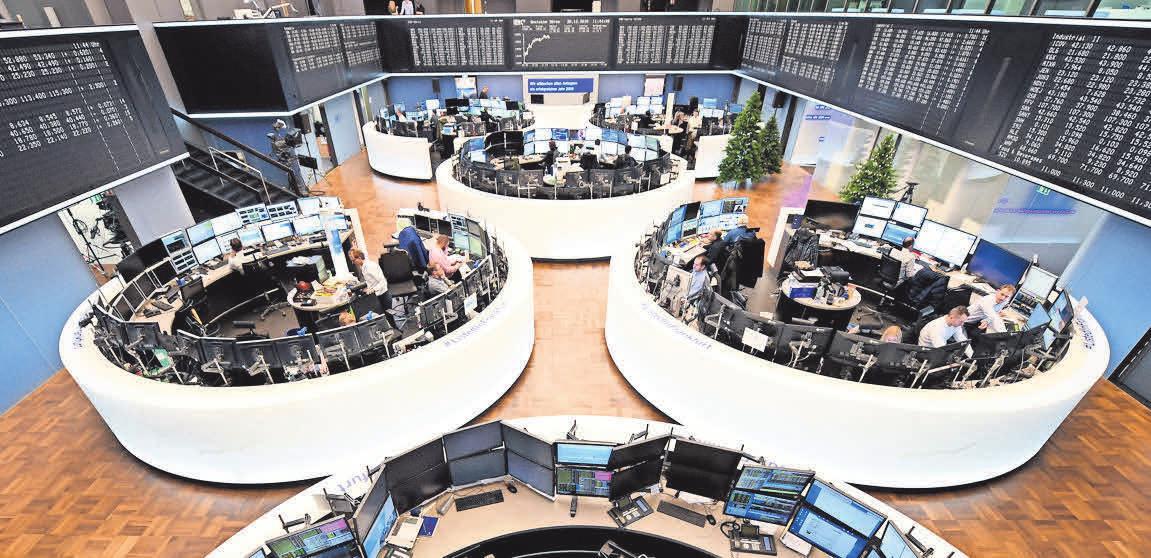 Eine Anlage in Aktien ist derzeit sehr beliebt. FOTO: DPA