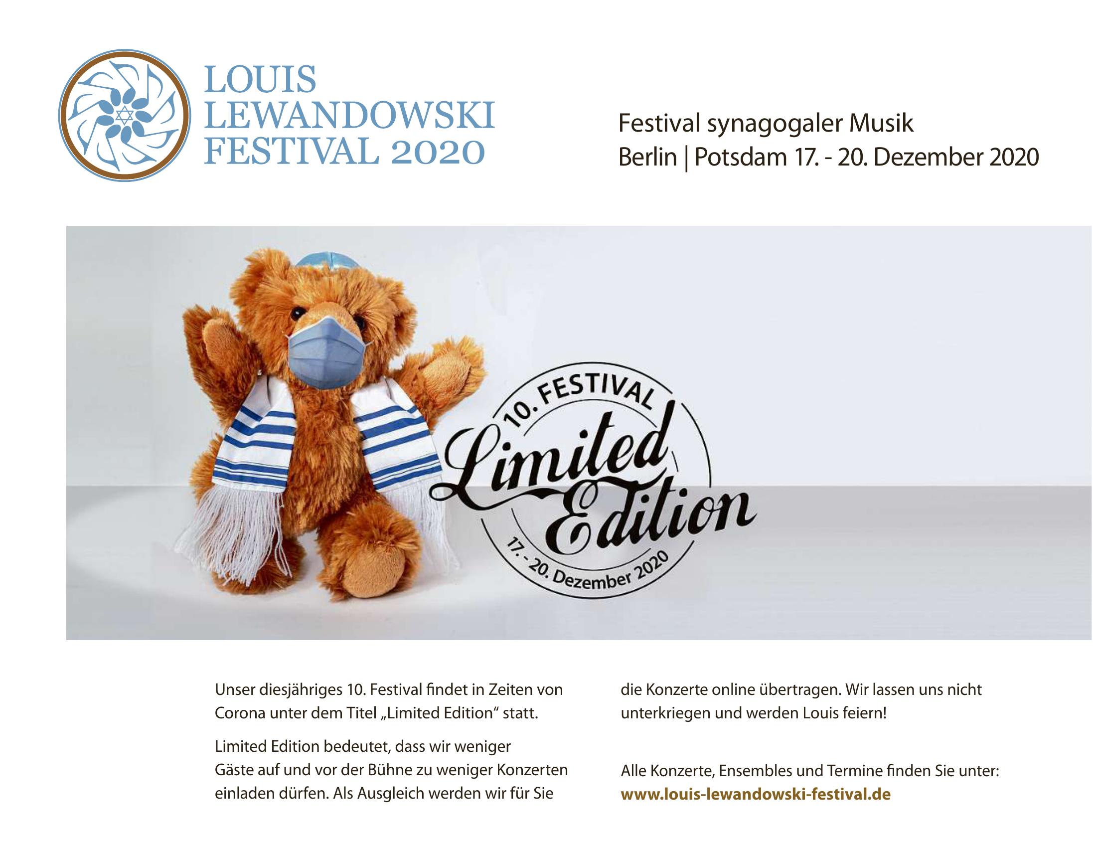Louis Lewandowski Festival 2019