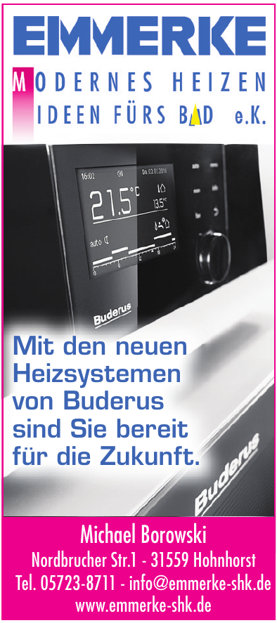 Emmerke Modernes Heizen, Ideen fürs Bad e.K.