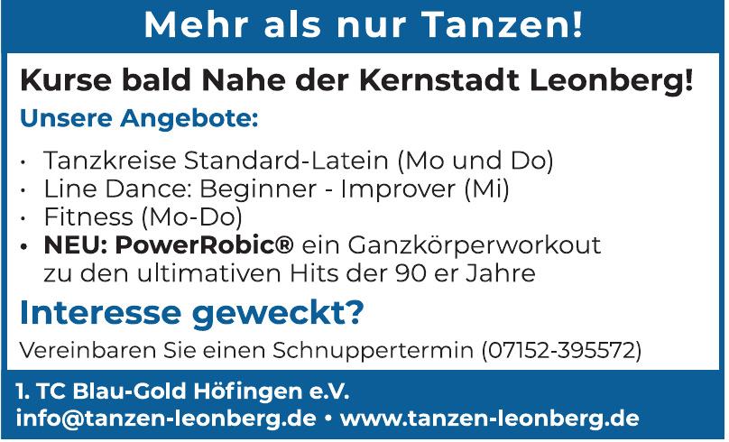 1. TC Blau-Gold Höfingen e.V.