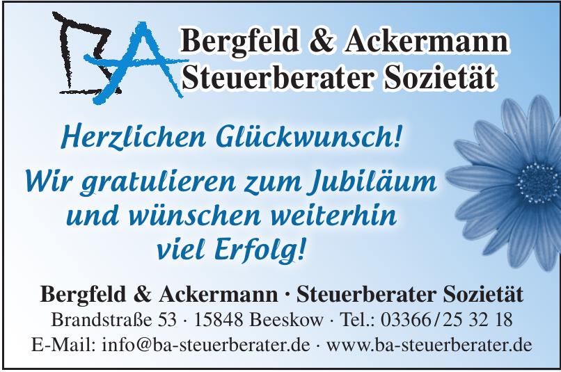 Bergfeld & Ackermann - Steuerberater Sozietät
