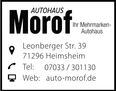 Autohaus Morof