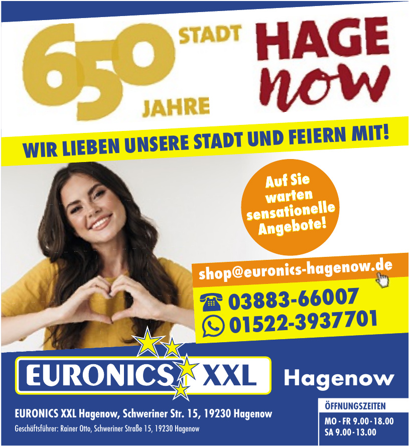 Euronics XXL Hagenow