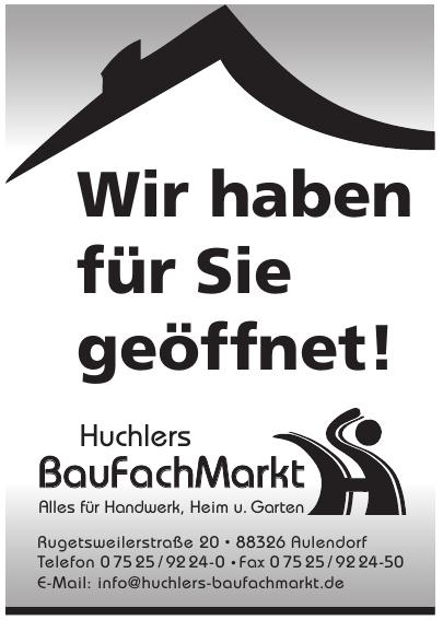 Huchlers BauFachMarkt