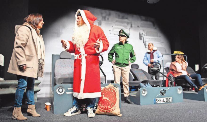 Urkomisch und unterhaltsam: Die Aufführung ist das passende Stück für einen unbeschwerten Theaterbesuch. Fotos (2): Imagemoove