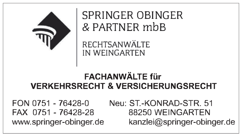 Rechtsanwalt Gerhard Obinger