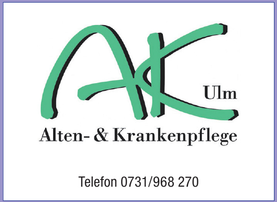 Alten-& Krankenpflege Ulm