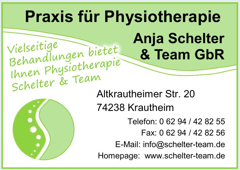 Praxis für Physiotherapie Anja Schelter & Team GbR