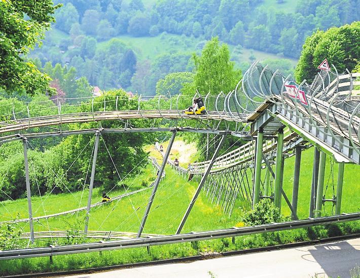 Sommerrodelbahn Wald Michelbach Unfall