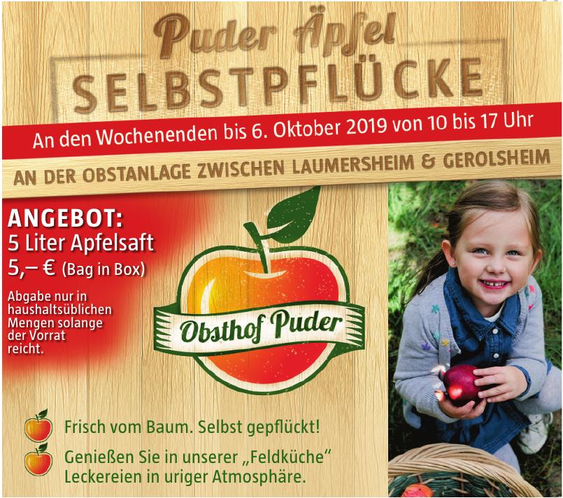 Obsthof Puder