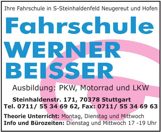 Fahrschule Werner Beisser