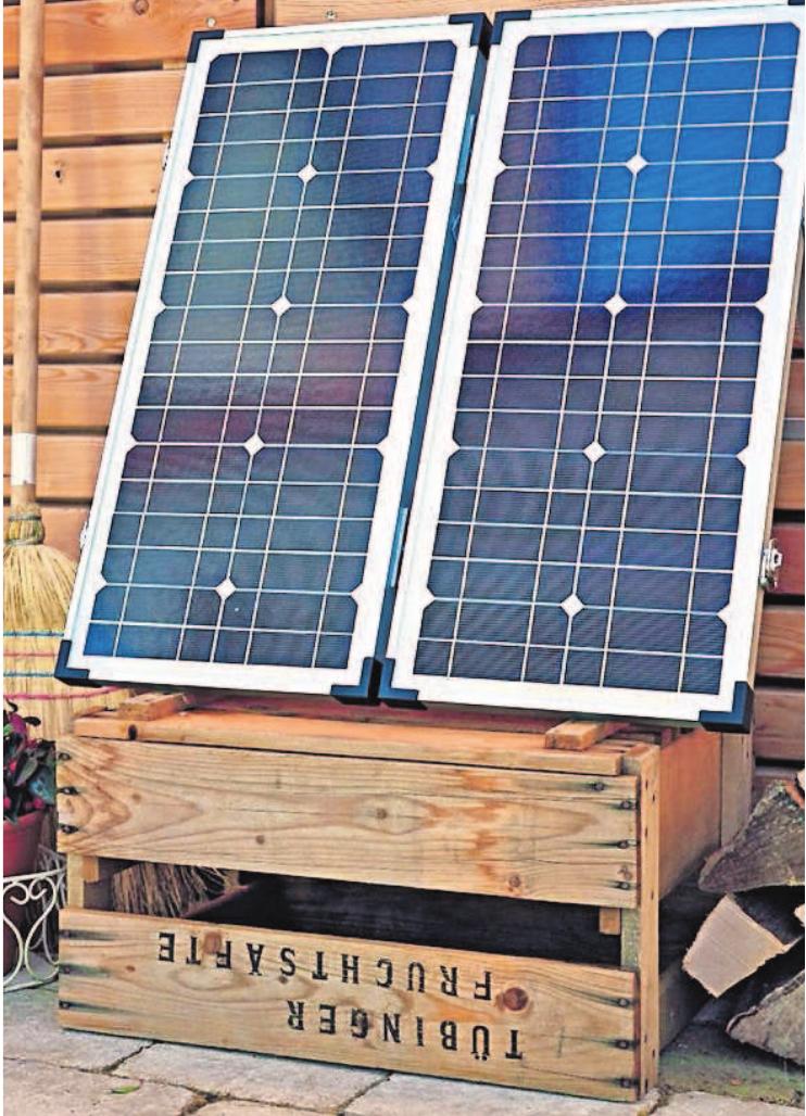 """Die mobilen """"Solar Energie-Sets"""" gibt es in verschiedenen Größen. Sie sind praktisch und auch für den Alltag nutzbar."""