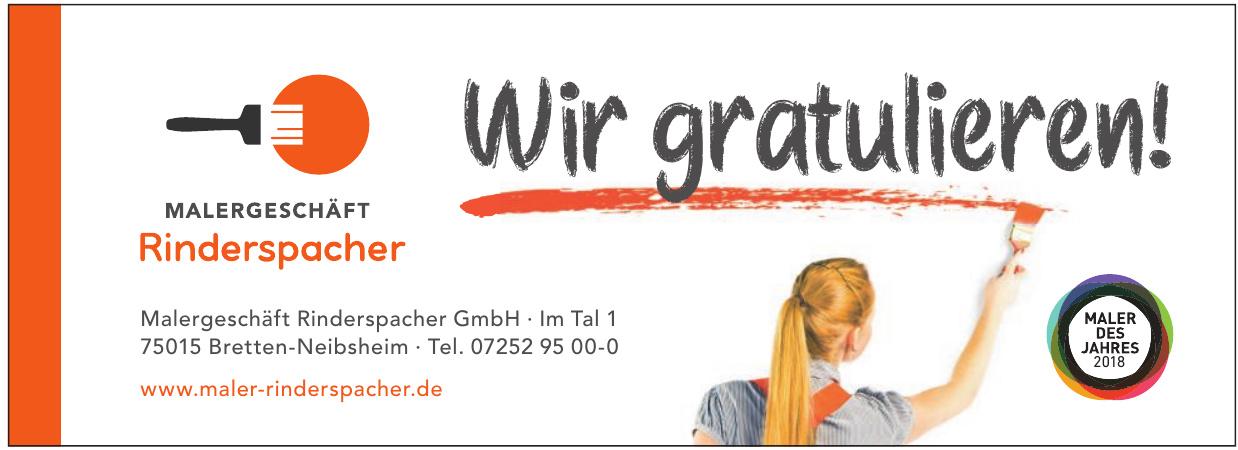 Malergeschäft Rinderspacher GmbH