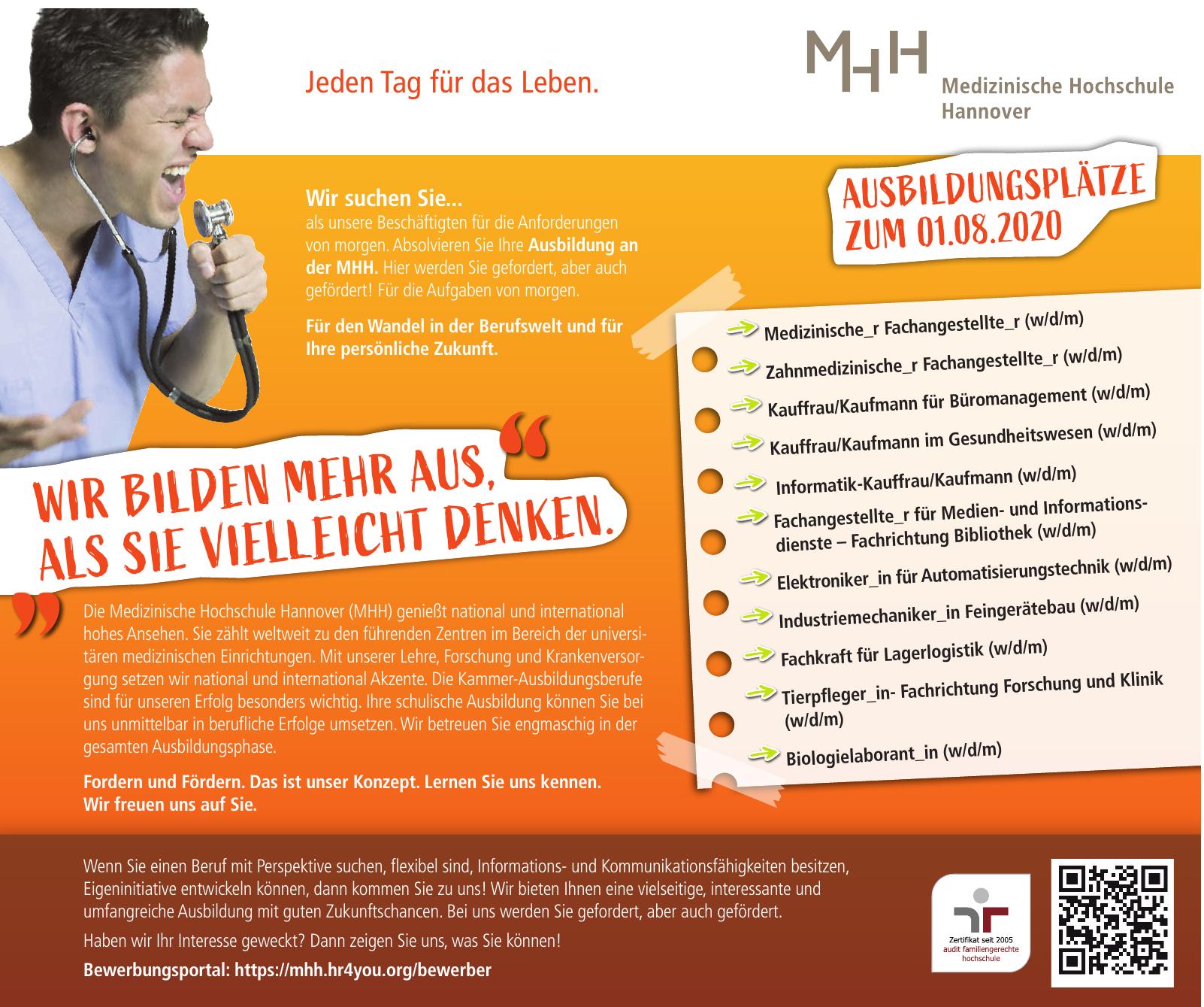 MHH Medizinische Hochschule Hannover