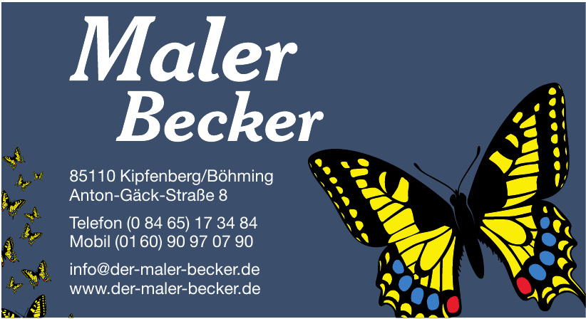 Maler Becker
