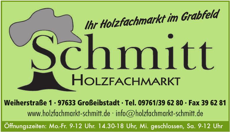 Holzfachmarkt Schmitt