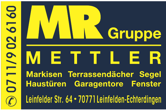 MR Gruppe Mettler