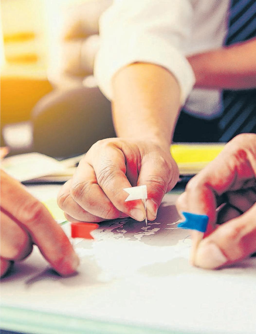 Auf der Suche nach dem perfekten Standort für die Geschäftstätigkeit. Foto: Panumas Yanuthai/shutterstock.com