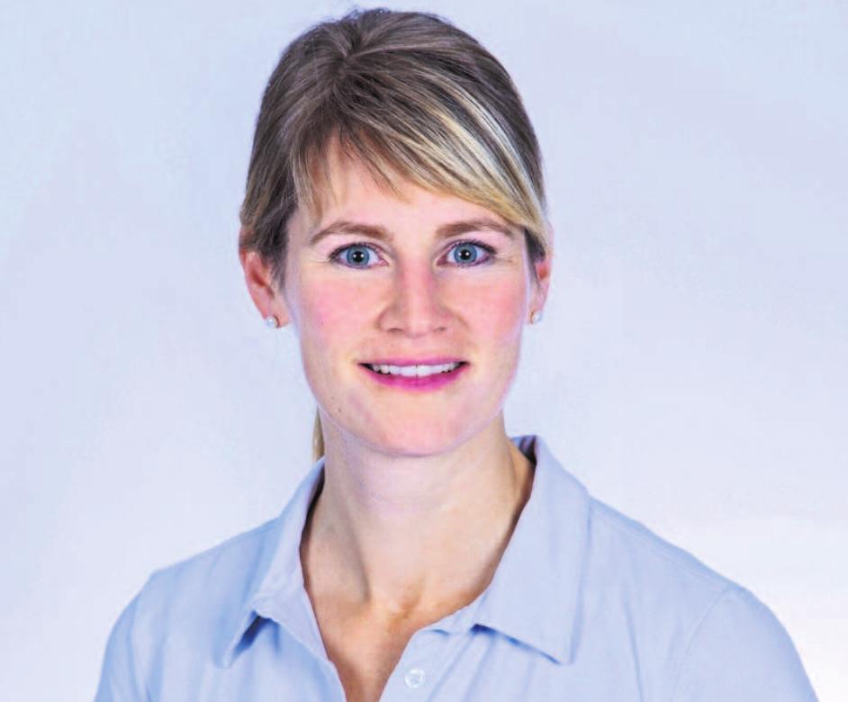 Die neue Fachärztin am MVZ Fichtelgebirge: Dr. med. Hanna Rödig. Foto: MVZ