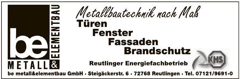 BE Metall & Elementbau GmbH